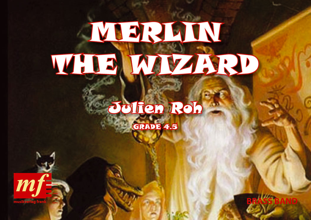 Cover MERLIN THE WIZARD