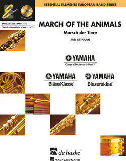 Cover MARCH OF THE ANIMALS