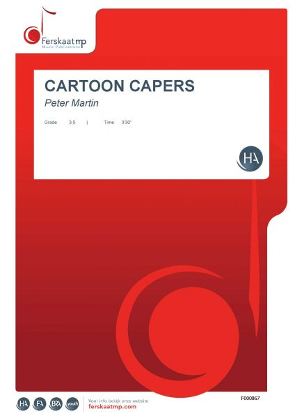 Cover CARTOON CAPERS