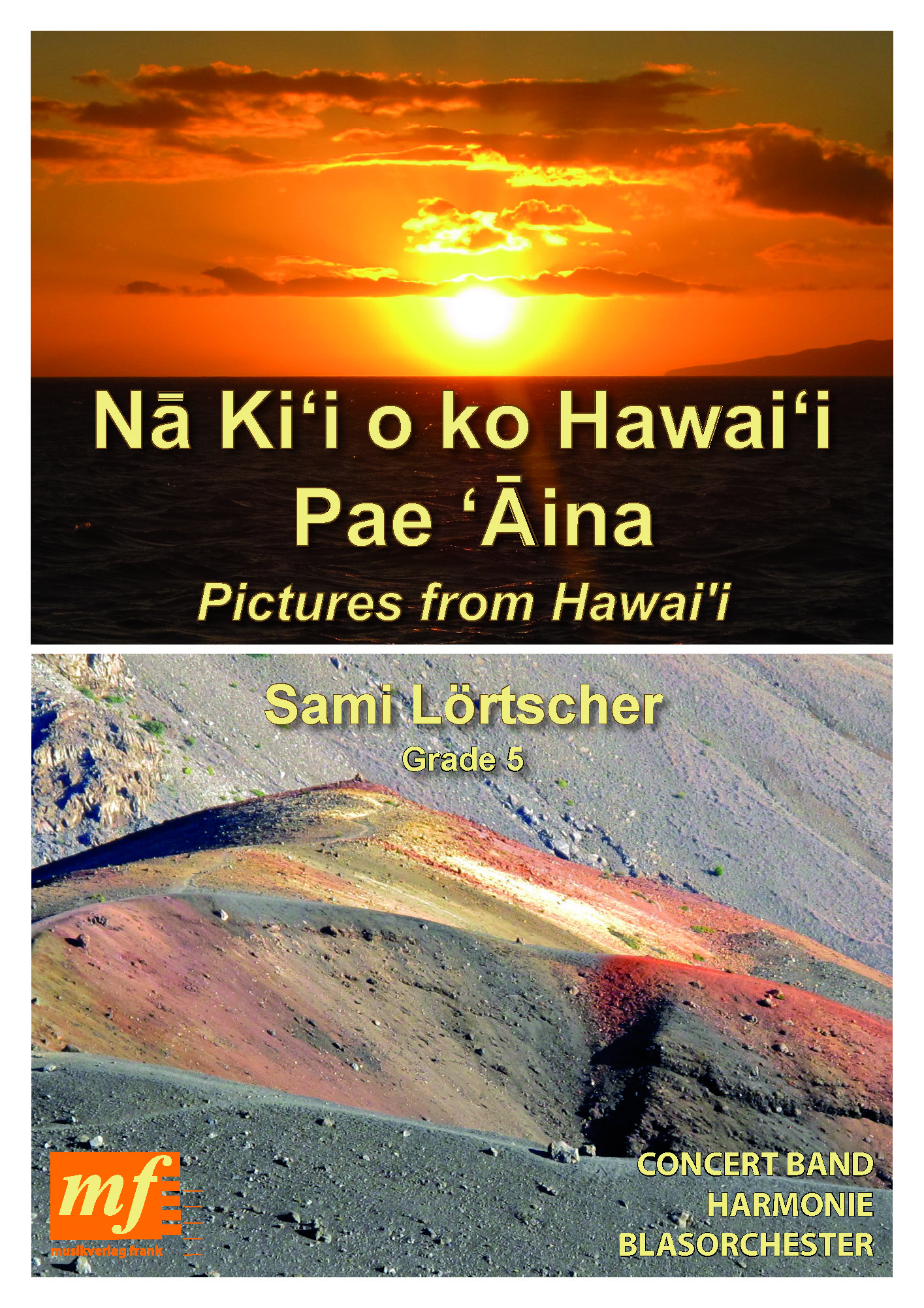 Cover PICTURES FROM HAWAI'I