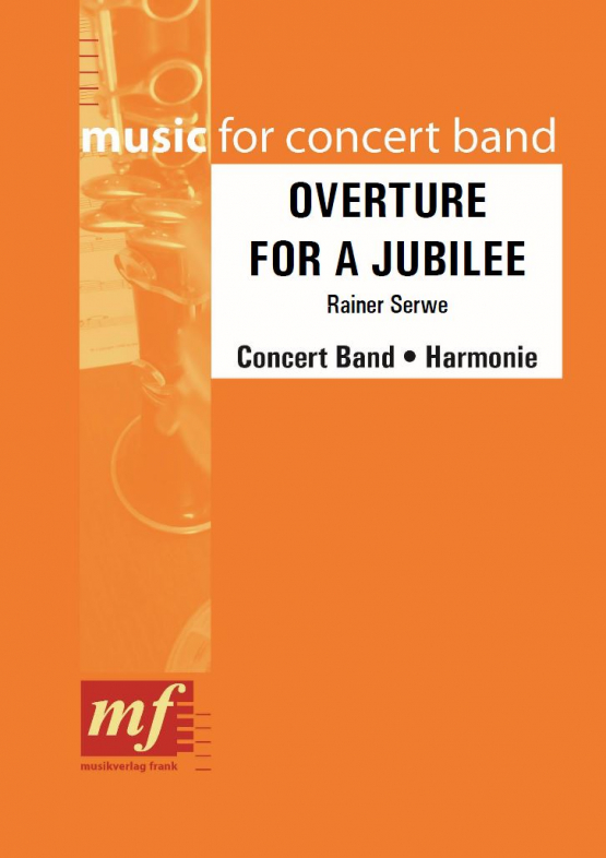Cover OVERTURE FOR A JUBILEE