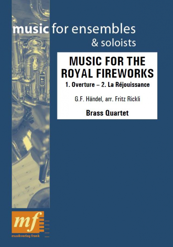 Cover MUSIC FOR THE ROYAL FIREWORKS