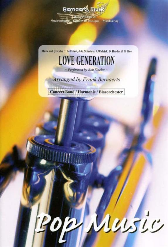 Cover LOVE GENERATION