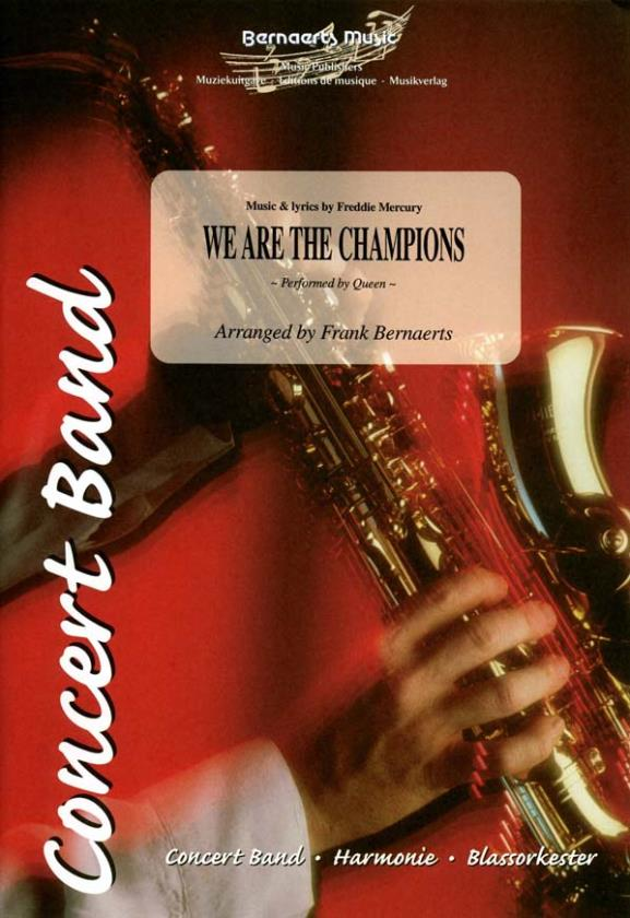 Cover WE ARE THE CHAMPIONS