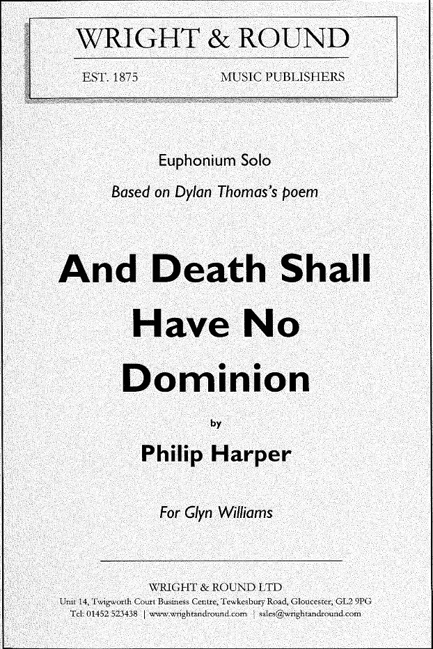 Cover AND DEATH SHALL HAVE NO DOMINION