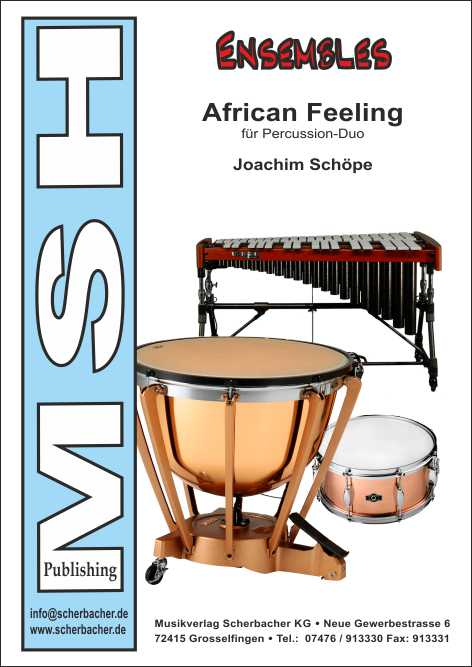 Cover AFRICAN FEELING