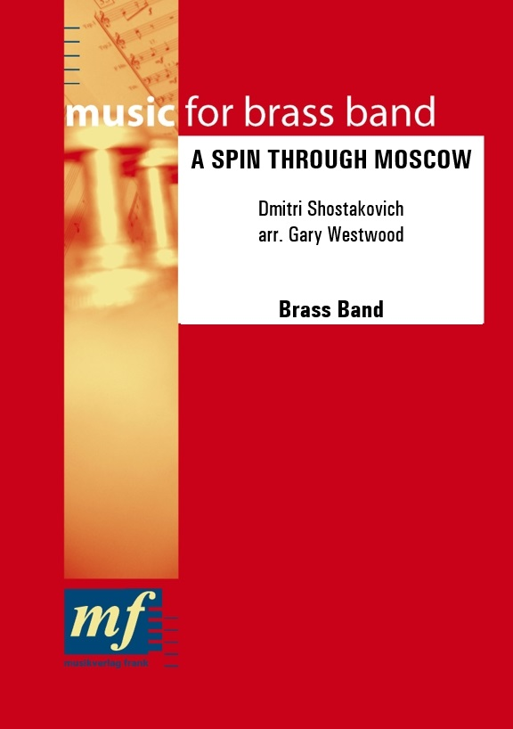 Cover A SPIN THROUGH MOSCOW