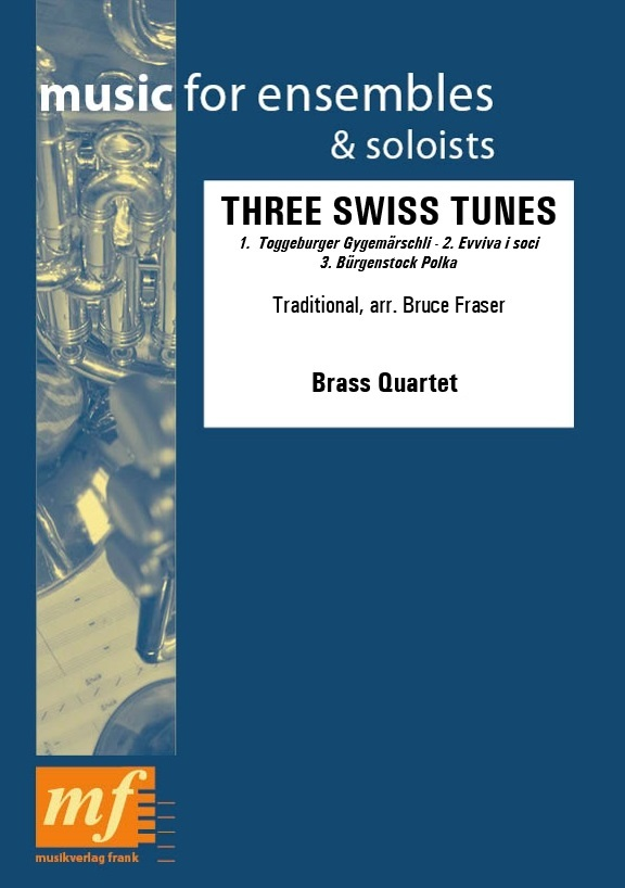 Cover THREE SWISS TUNES