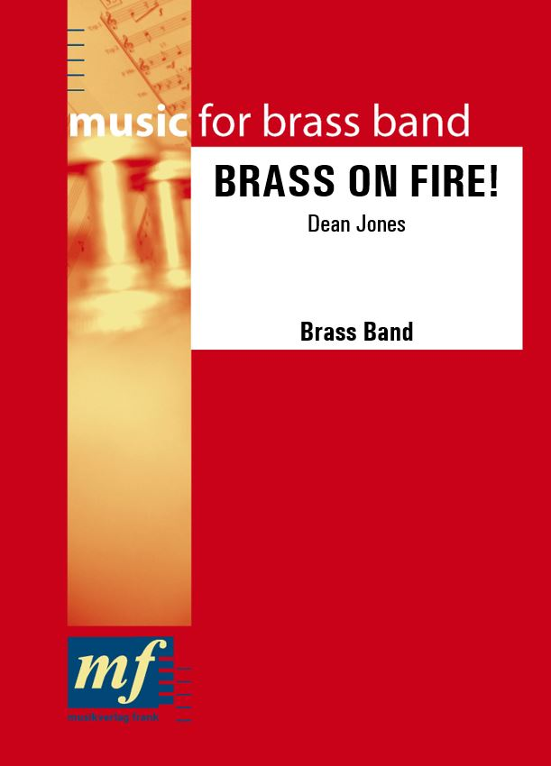Cover BRASS ON FIRE!