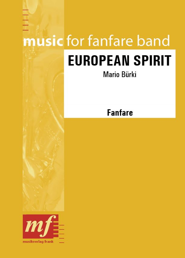 Cover EUROPEAN SPIRIT