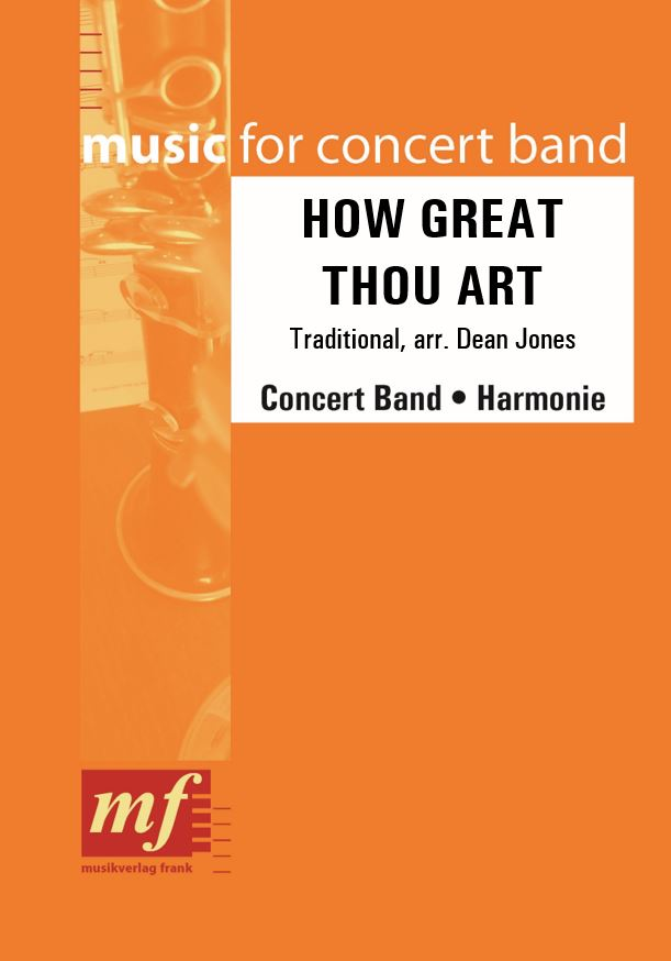 Cover HOW GREAT THOU ART