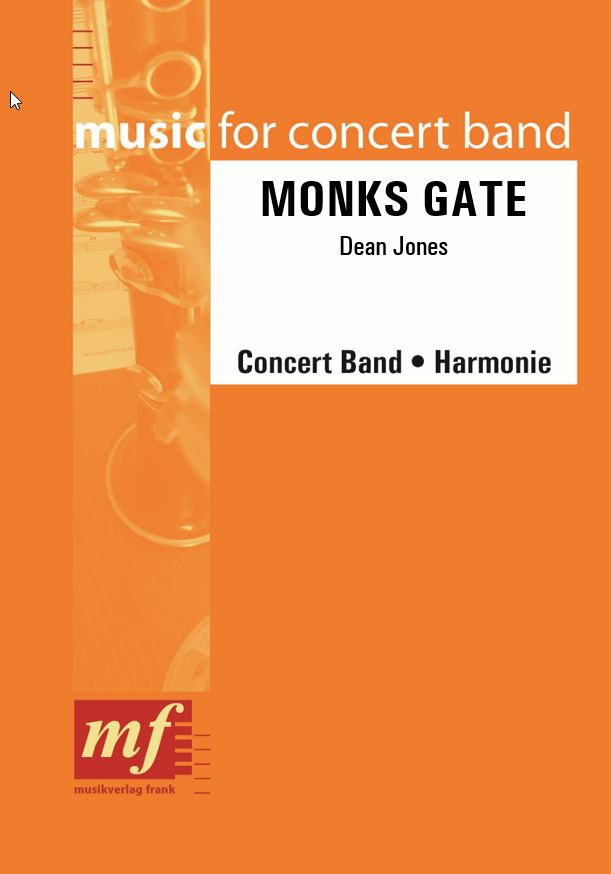 Cover MONKS GATE