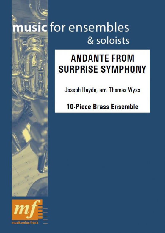 Cover ANDANTE FROM SURPRISE SYMPHONY