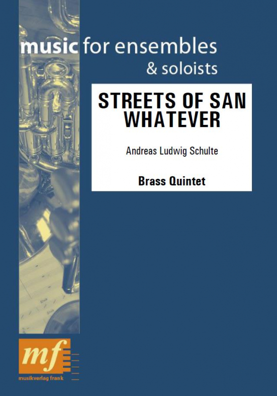 Cover STREETS OF SAN WHATEVER