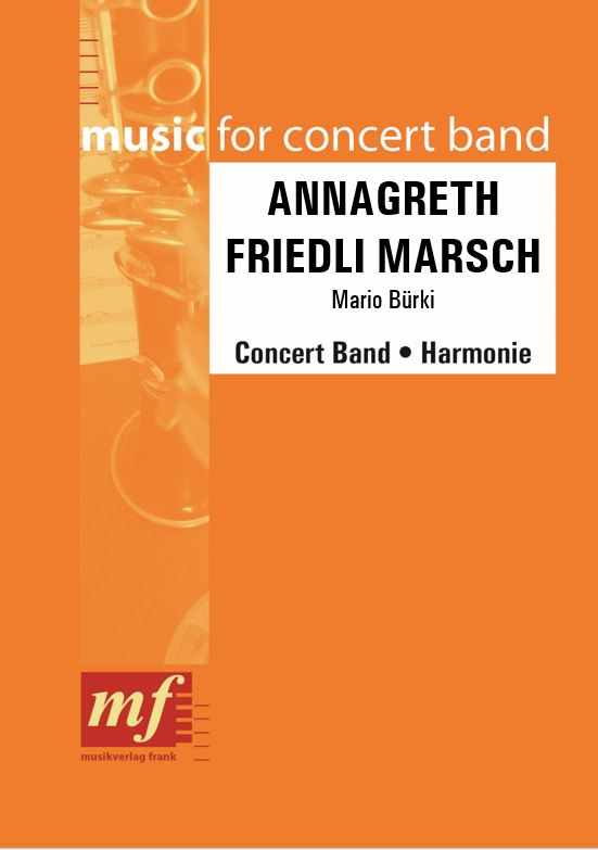 Cover ANNAGRETH FRIEDLI MARSCH