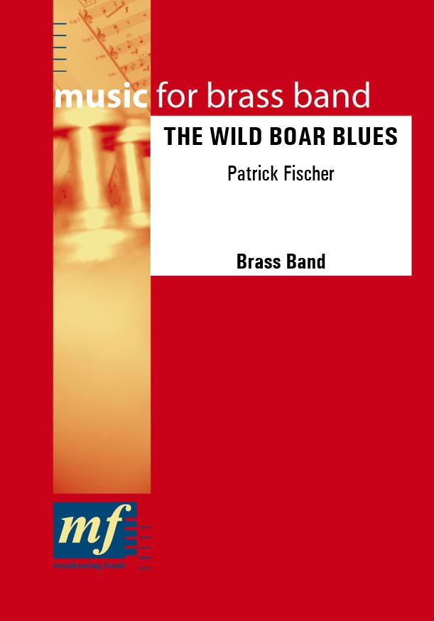 Cover THE WILD BOAR BLUES
