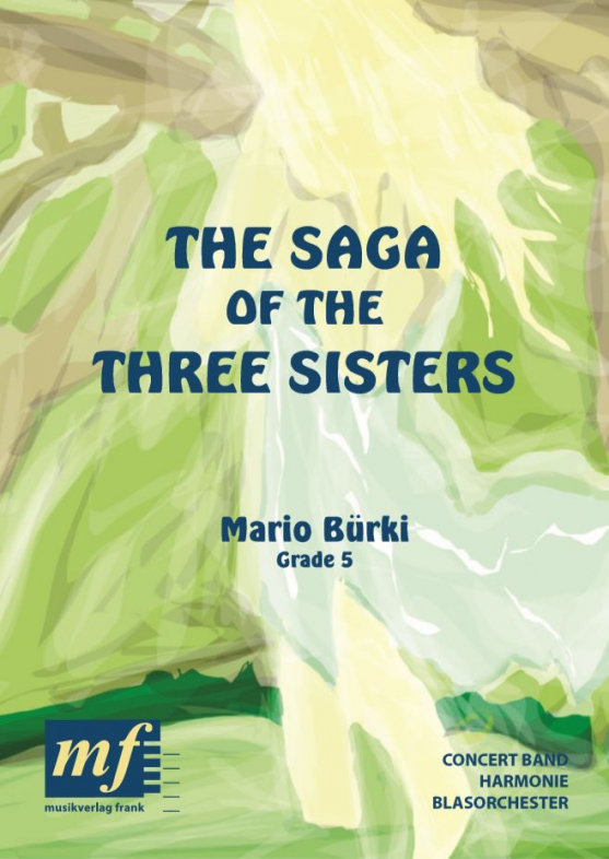 Cover THE SAGA OF THE THREE SISTERS
