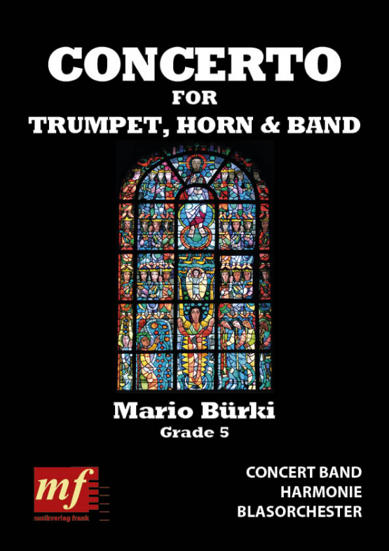 Cover CONCERTO FOR TRUMPET, HORN AND BAND
