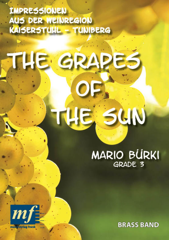 Cover THE GRAPES OF THE SUN