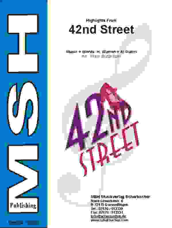 Cover 42ND STREET